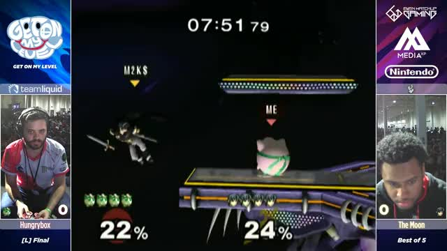 Hungrybox vs The Moon - GOML 2017 - Melee Losers Final