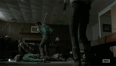 Watch Daryl Dixon golf gif FORE Walking Dead Still 4x12 GIF on Gfycat. Discover more related GIFs on Gfycat