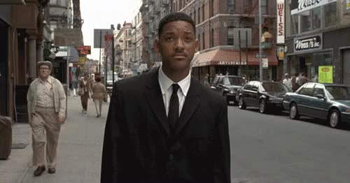 Watch this men in black GIF on Gfycat. Discover more men in black, will smith GIFs on Gfycat