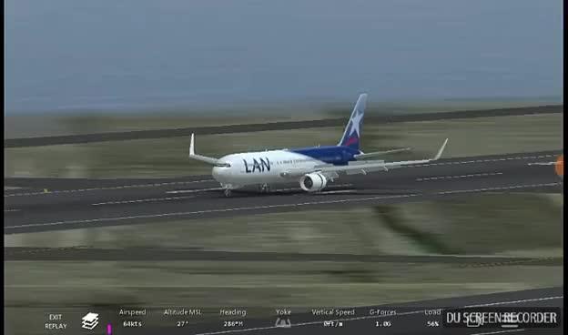 Watch and share Infinite Flight: 767, A380, 717, A340 Landings GIFs on Gfycat