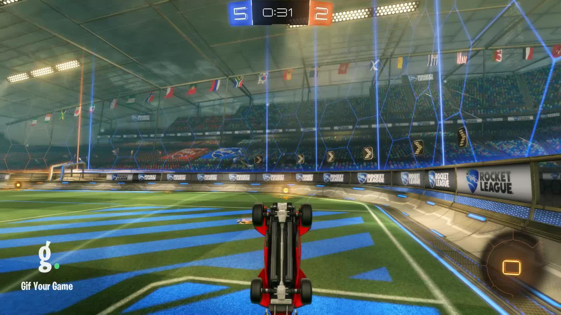 Gif Your Game, GifYourGame, Goal, Rocket League, RocketLeague, datboi, Goal 8: datboi GIFs