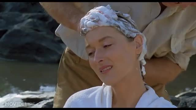 Watch Out of Africa (5/10) Movie CLIP - Shampoo By the River (1985) HD GIF on Gfycat. Discover more 0gs1_, 0h0wc, 36787, Drama, amg, biography, movieclipsdotcom GIFs on Gfycat