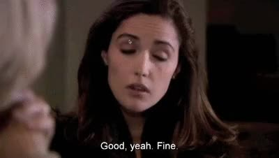 Watch and share Rose Byrne GIFs and Fine GIFs on Gfycat
