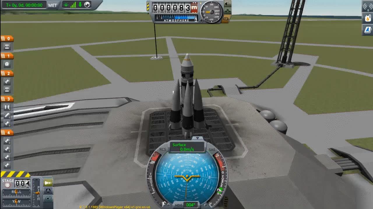 Launching Sputnik Kinda On KSP