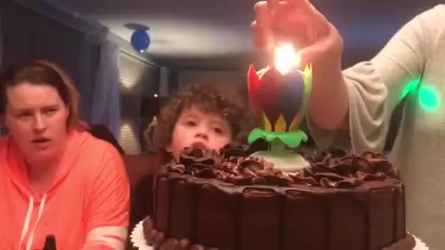 Watch and share Birthdau Surprise GIFs and Birthday Candle GIFs by Hashtag Sales on Gfycat