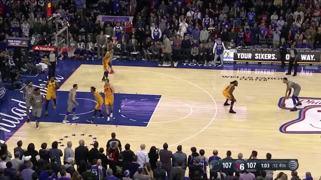 Watch Ben Simmons_Winning basket Jazz GIF by Ben Mallis (@benmallis) on Gfycat. Discover more NBA, basketball GIFs on Gfycat