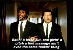 Watch and share Quentin Tarantino GIFs and Samuel L Jackson GIFs on Gfycat