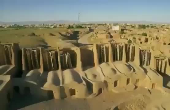 Watch and share In Nashtifan, Iran , Some Of The Oldest Windmills In The World Still Spin. They Have Been Milling Grain For Flour For An Estimated 1,000 Yea GIFs by MyNameGifOreilly on Gfycat
