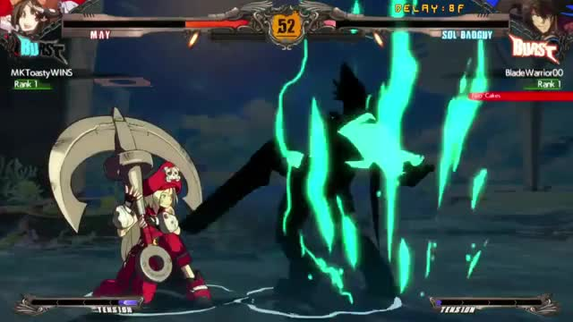 Watch and share Guilty Gear GIFs by black_frost88 on Gfycat
