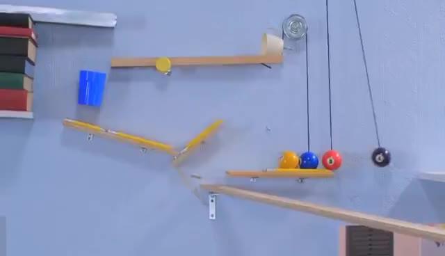 Watch The Breakfast Machine (Rube Goldberg) GIF on Gfycat. Discover more related GIFs on Gfycat