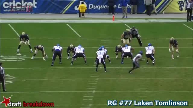 Laken Tomlinson vs Pittsburgh (2014) (reddit)