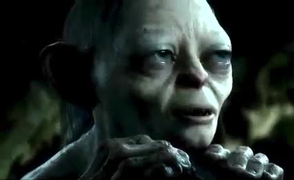 confused, gollum, lord of the rings, my precious, smeagle,  GIFs