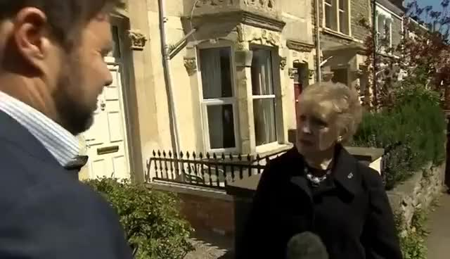 """Watch and share Election 2017: """"NOT ANOTHER ONE!"""" Brenda From Bristol's Reaction GIFs on Gfycat"""