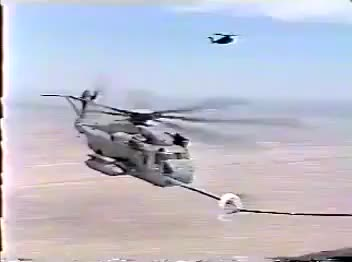 Watch and share CH-53E Pilot Tactically Removes Aerial Refueling Probe (reddit) GIFs on Gfycat