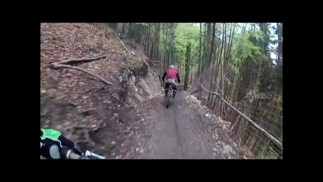 Watch Bear chases mountain biker (full) GIF by @foodenator on Gfycat. Discover more ImageStabilization GIFs on Gfycat