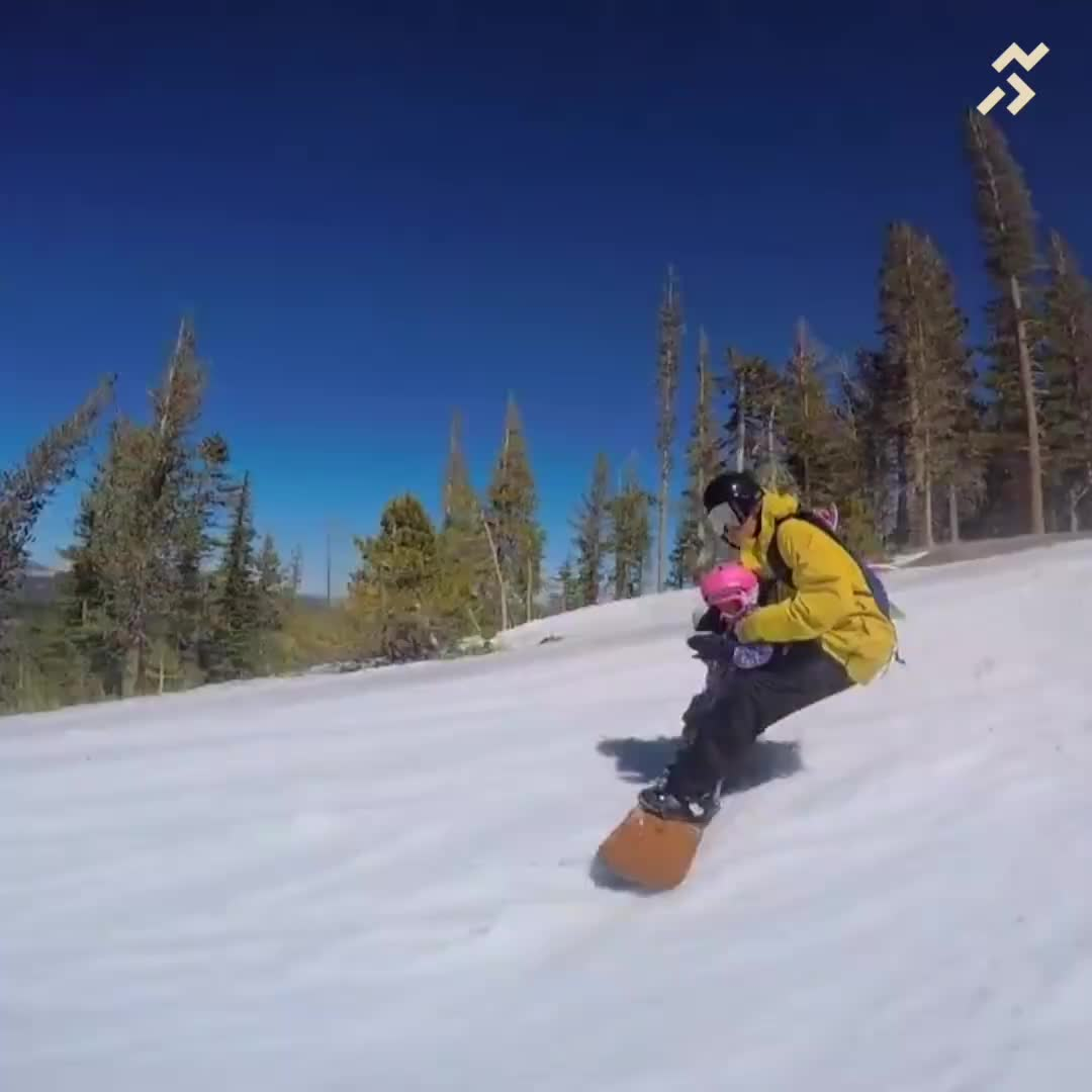 snowboard, snowboarding, Professional Snowboarder Steve Klassen Does CRAZY Snowboarding Tricks With Hi... GIFs