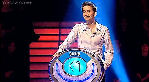 Watch and share Gif David Tennant Doctor Who Edition The Weakest Link Anne Robinson What If He Said Yes I Would Have Died Dorktorwho animated stickers on Gfycat
