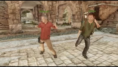 'Uncharted Dance' - Uncharted 3 Drake's Deception™_Multiplayer GIFs