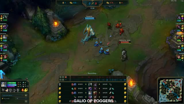 Watch and share GALIO OP POGGERS GIFs on Gfycat