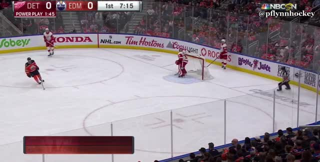 Watch and share Detroit Red Wings GIFs and Edmonton Oilers GIFs by peterwiim on Gfycat