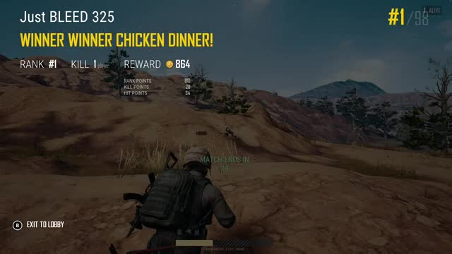 Watch this GIF by Xbox DVR (@xboxdvr) on Gfycat. Discover more Just BLEED 325, PLAYERUNKNOWN'SBATTLEGROUNDS–PublicTestServer, xbox, xbox dvr, xbox one GIFs on Gfycat