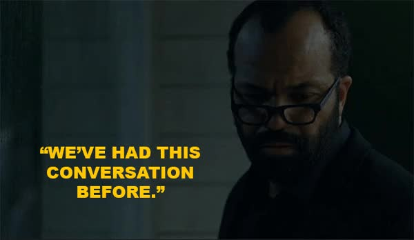 Watch and share Anthony Hopkins GIFs and Jeffrey Wright GIFs on Gfycat