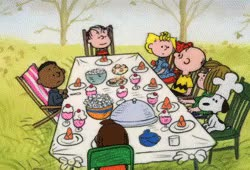 Watch and share Thanksgiving Peanuts GIFs on Gfycat