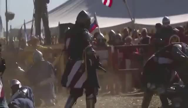 Watch and share Extreme Moments In HMB (Historical Medieval Battle). Part 1 GIFs on Gfycat