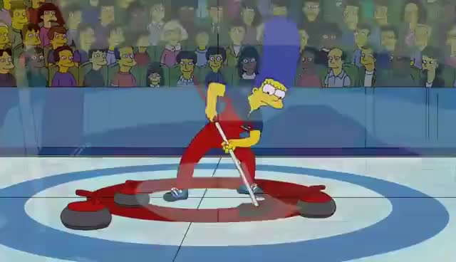 Watch and share The Simpsons GIFs and Curling GIFs on Gfycat