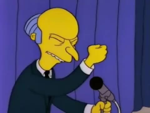 bravo, bro, burns, congratulations, cool, cool story bro, got, great, it, mr, personal, simpsons, story, thumbs, up, Mr. Burns -  Personal thumbs up GIFs