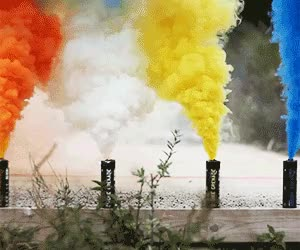Watch and share Smoke Bomb GIFs on Gfycat