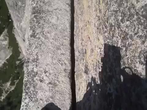 Watch Thank God Ledge on Half Dome's Reg (reddit) GIF on Gfycat. Discover more adrenalineporn, dontlookdown GIFs on Gfycat