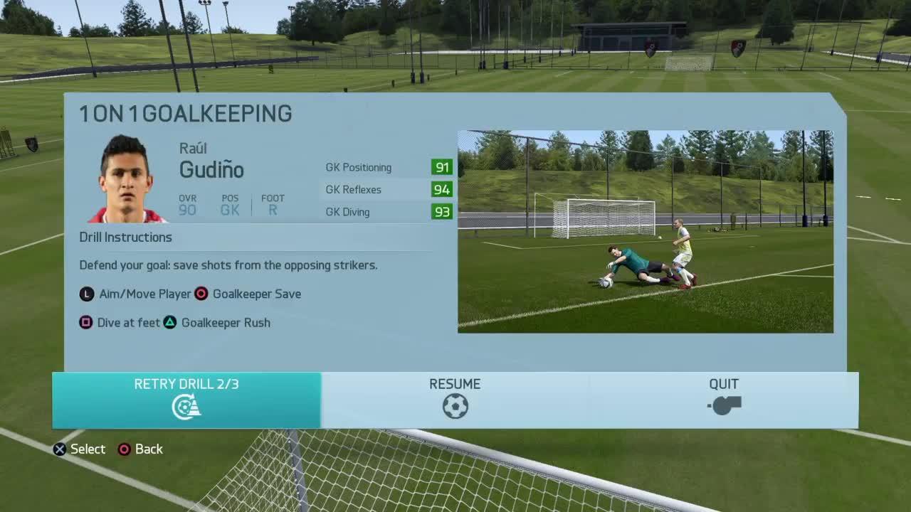 fifa 16 goalkeeper training, fifacareers, goalkeeper training, FIFA 16 goalkeeper training GIFs