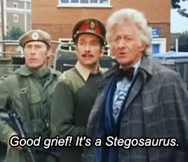 Watch and share Tia Classic Who GIFs and The Brigadier GIFs on Gfycat
