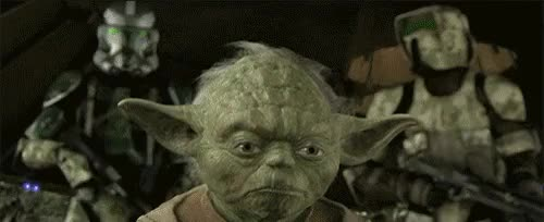 Watch and share Revenge Of The Sith GIFs and Yoda GIFs on Gfycat