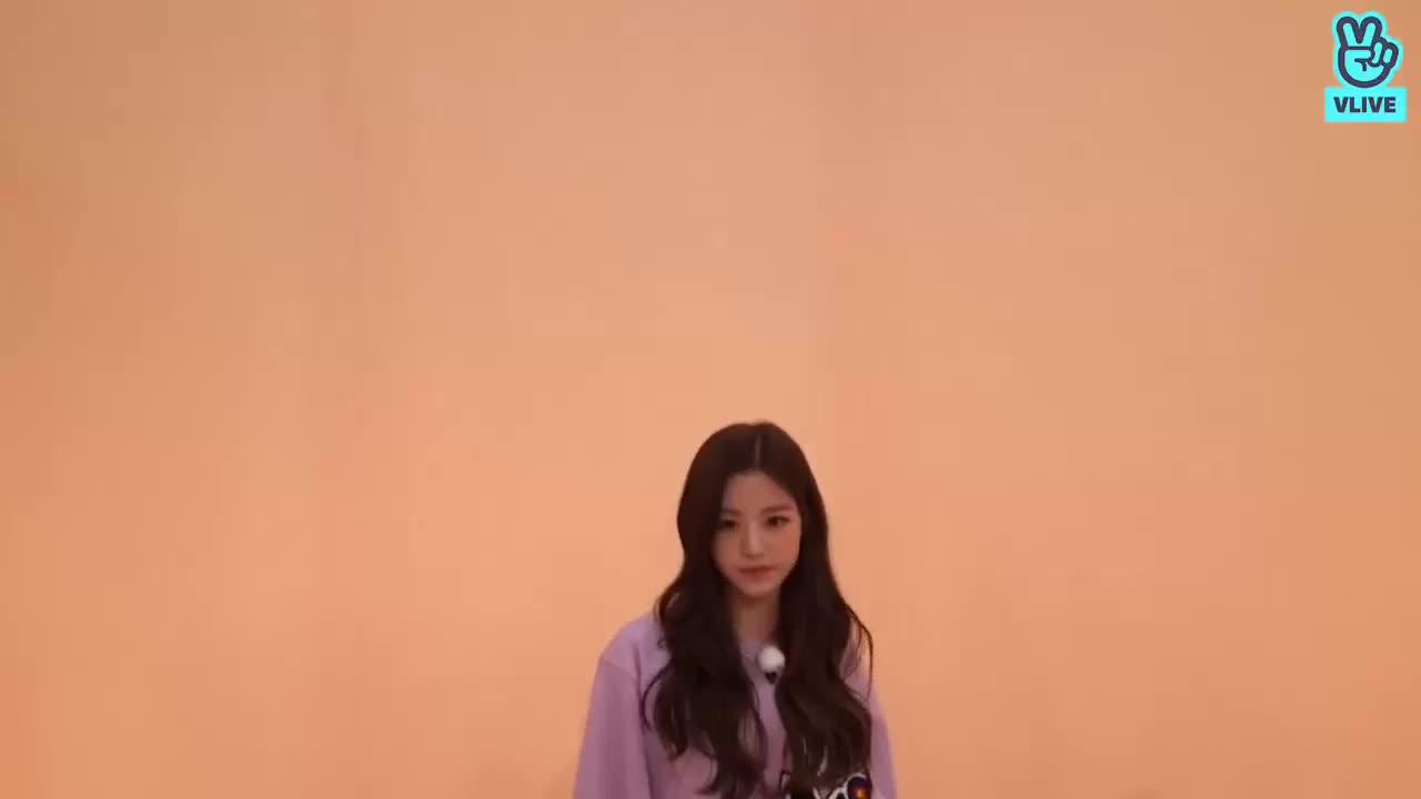 idol room, iz*one, jang wonyoung, kpop, produce 48, starship, vlive, wonyoung, Wonyoung GIFs