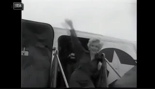 Watch MARILYN MONROE - KOREA 1954 GIF on Gfycat. Discover more related GIFs on Gfycat