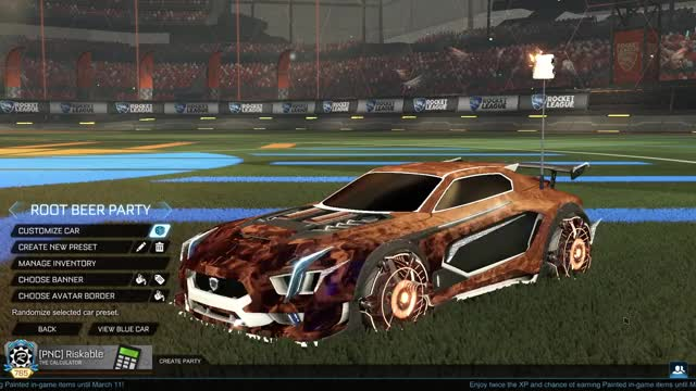 Watch Root Beer Party Car GIF by Riskable (@riskable) on Gfycat. Discover more Fashion League, Rocket League, RocketLeague GIFs on Gfycat