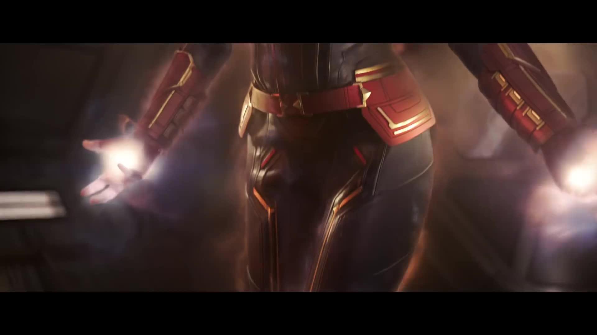 brie larson, captain marvel, clark gregg, comics, jude law, marvel, marvel studios, mcu, samuel l. jackson, super hero, Marvel Studios' Captain Marvel - Official Trailer GIFs