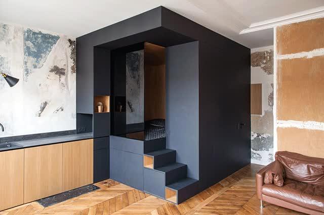 Watch and share Batiik Refurbished Small Paris Studio Apartment GIFs on Gfycat