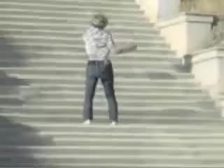 Watch Falling down stairs GIF on Gfycat. Discover more Fall, Funny, Stairs GIFs on Gfycat