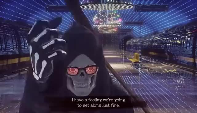 Watch and share LET IT DIE - Meeting Uncle Death GIFs on Gfycat