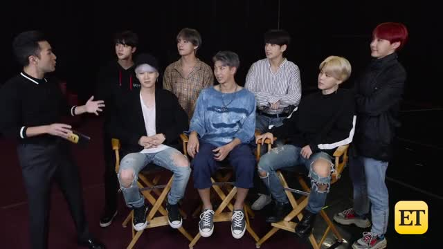 Watch BTS on Dating and What True Love Means to Them | Daily Denny EXCLUSIVE GIF by Koreaboo (@koreaboo) on Gfycat. Discover more Daily denny, Entertainment Tonight, celebrity, et, et online, et tonight, etonline, hollywood, news, selena gomez, trending GIFs on Gfycat