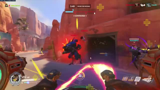 Watch and share Overwatch GIFs and Scream GIFs by Tori on Gfycat