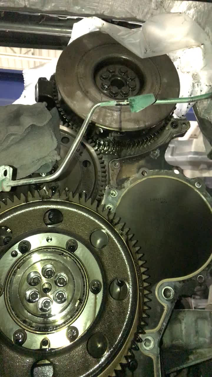 Justrolledintotheshop, Volvo D13 Timing Plate Job (reddit) GIFs
