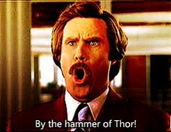 Watch this anchorman GIF on Gfycat. Discover more anchorman, hammer of thor, ron burgundy, will ferrell GIFs on Gfycat