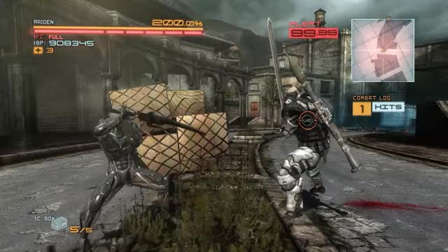 Watch and share Metal Gear Rising Revengeance Jump Combo: Revengeance GIFs by queckquack on Gfycat