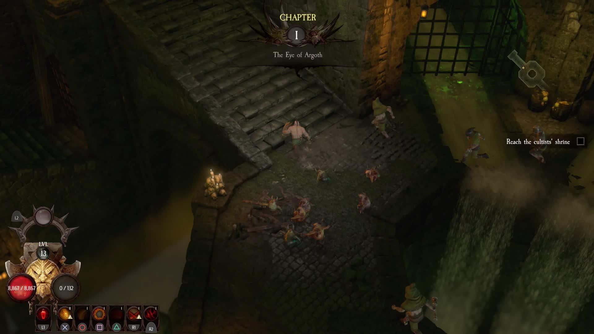 Warhammer: Chaosbane Slayer Basic Skills GIF   Gfycat