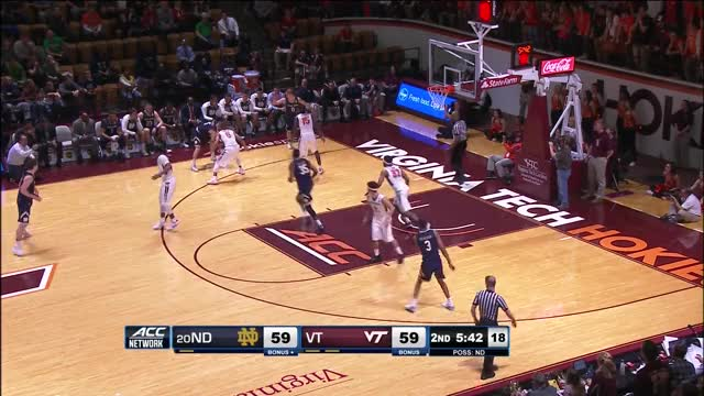 Watch 1/14/2017 Virginia Tech - Notre Dame GIF on Gfycat. Discover more hokie tapes, hokietapes, virginia tech GIFs on Gfycat
