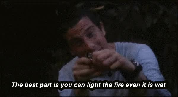 Watch - Start your fire anytime anywhere GIF on Gfycat. Discover more related GIFs on Gfycat